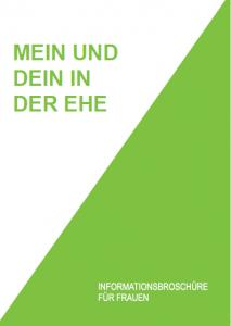 """Handbuch """"Mein und Dein in der Ehe"""""""